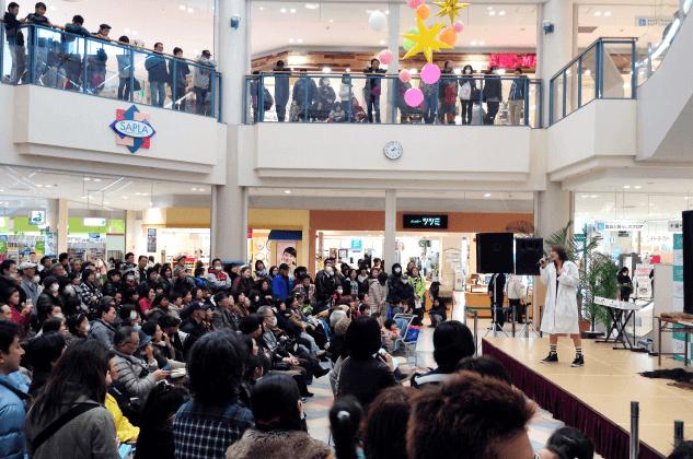 ショッピングセンターイベント|タレント派遣・芸能人派遣はジョイントプランニングへ