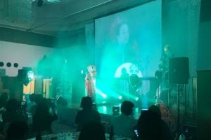 企業イベントにて制作、音響、照明業務!
