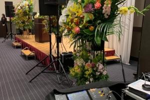 企業イベントにて音響業務!